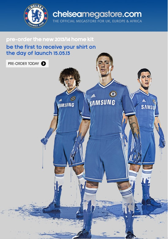 THE NEW CHELSEA HOME KIT 2013/14  | CHELSEADAFT - A Chelsea Fans Blog