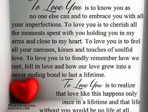 heartfelt i love you messages