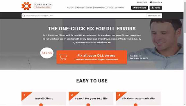 مشاكل ملفات DLL الناقصة