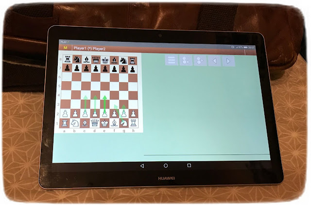 JCER chess engines for Android HuaweiTab2019
