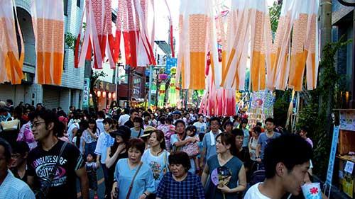 Anjo City Tanabata Festival, Aichi.