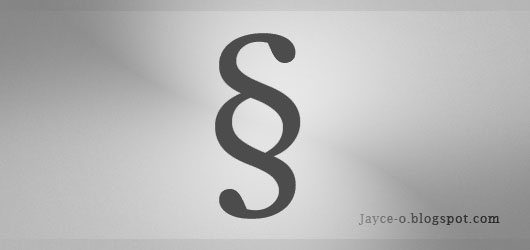 The typographic symbol tutorials blogger for The sign