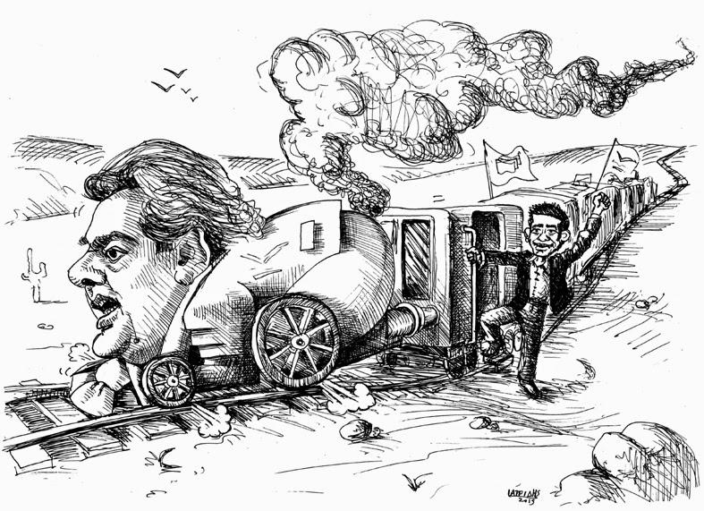 Το τρένο φεύγει στις 8, ταξίδι για την συγκυβέρνηση