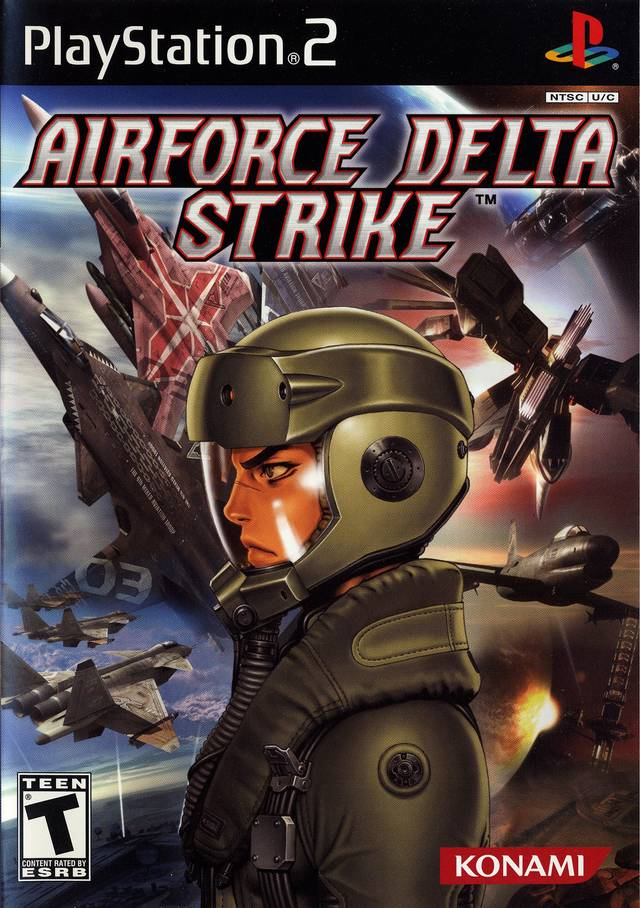 AirForce Delta Strike NTSC PS2