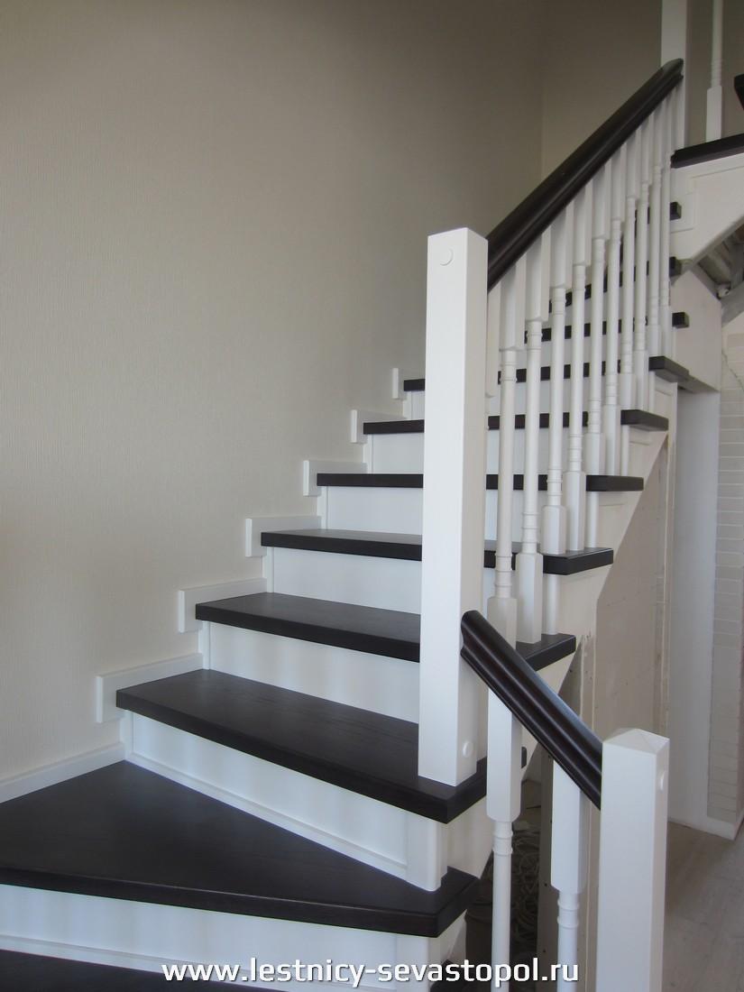 Каркас лестницы второй этаж
