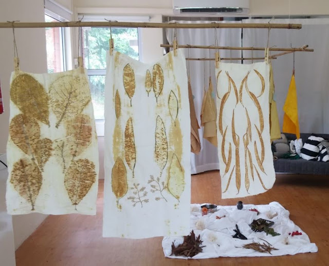 Natural Dyes Using Local Flora