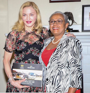 Margaret Kenyatta and Fashion icon, Madonna