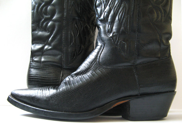 Black Tall Cowboy Boots Womens Size 7 5 Frye Boots
