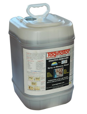 Graffiti Removal Products - Taginator Graffiti Remover 5 Gallons