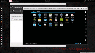 Genymotion Emulator Android on Kali Linux 2.0