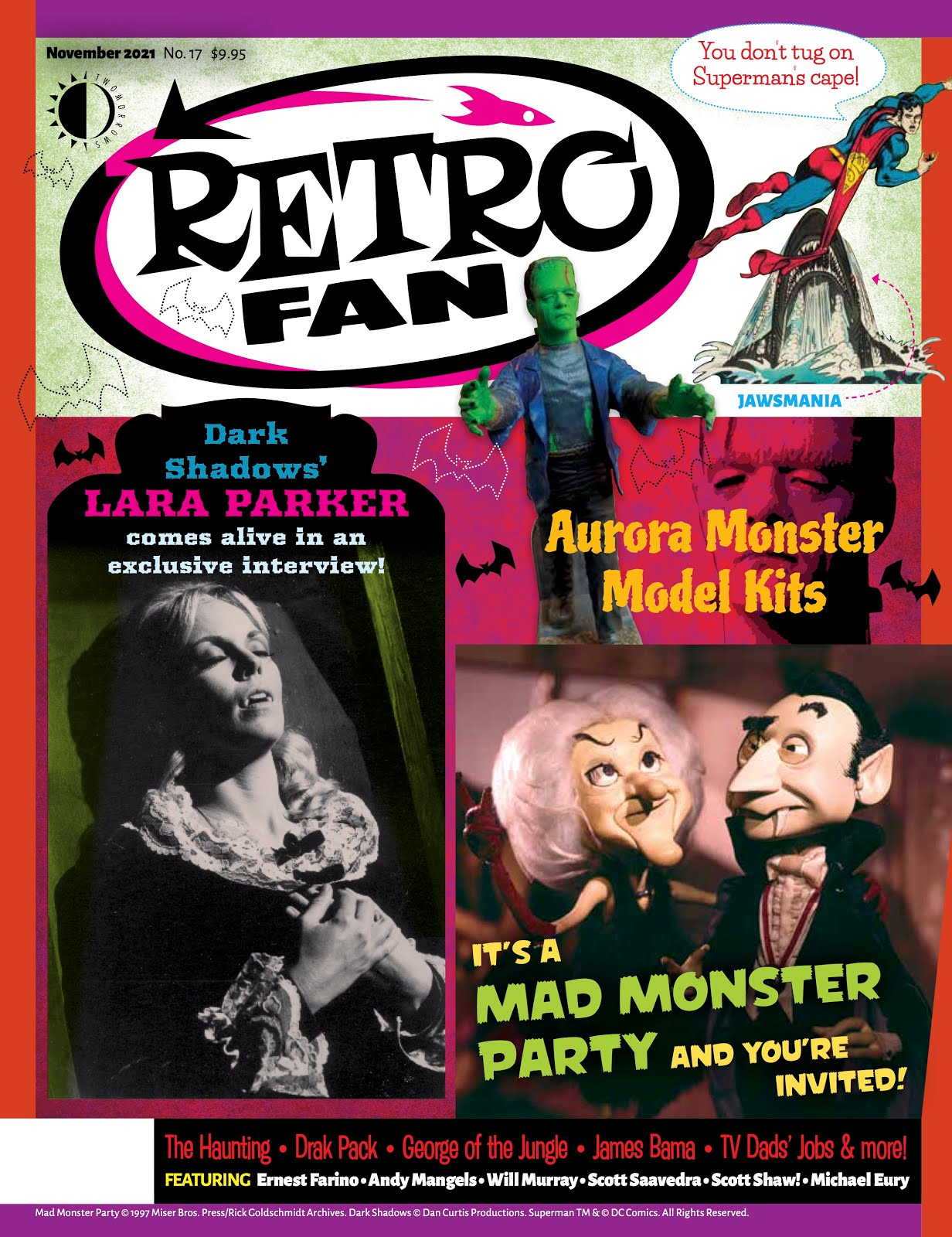 RetroFan Magazine #17 with my Mad Monster Party? Article