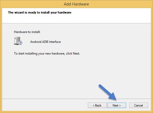 Install ADB Interface