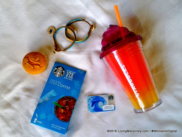 Sweetened Iced Coffee Summer Coolers From Starbucks VIA