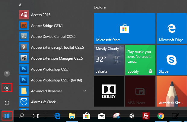 change windows 10 start menu to classic