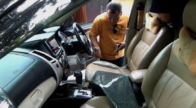 Pencuri  Spesialis Pecah Kaca Mobil Obok-Obok Jombang