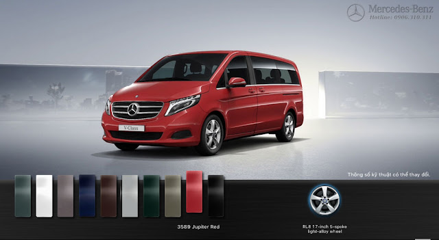 Mercedes V250 Avantgarde 2016