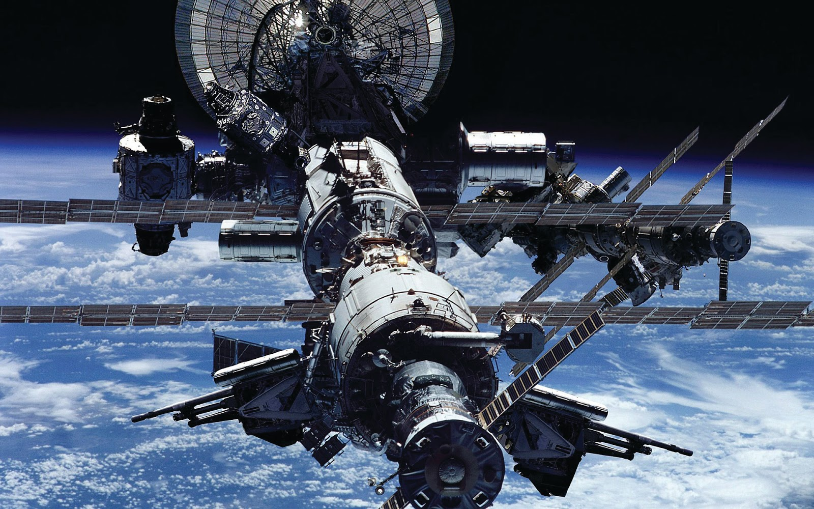 Geoff's blogs: The International Space Station, I.S.S.