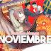 Portadas Manga Alusivas de Noviembre 👻 ¡Gran checklist mensual!