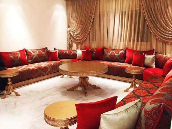 Beaux Salons Marocains Des Images Luxe Decorationmarocains