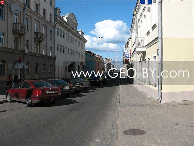 Минск. Улица Интернациональная
