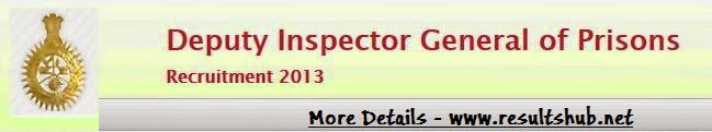 DIG Recruitment 2013 MKCL Result, Selection List