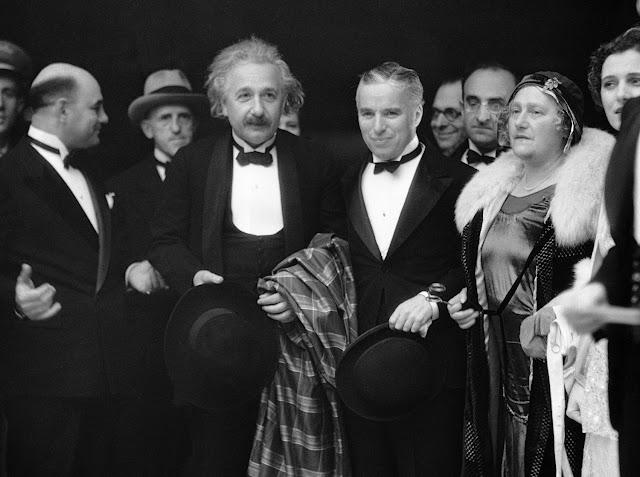 Ngày này năm xưa : Einstein và Chaplin tham dự buổi công chiếu phim.