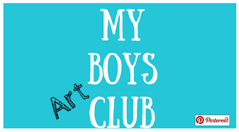 My Boys Art Club - October 2016