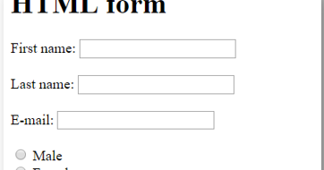 HTML FORMS (FORMATTING AND ATTRIBUTES) - Web Development and Design