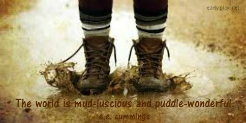 e.e. cummings quote about mud