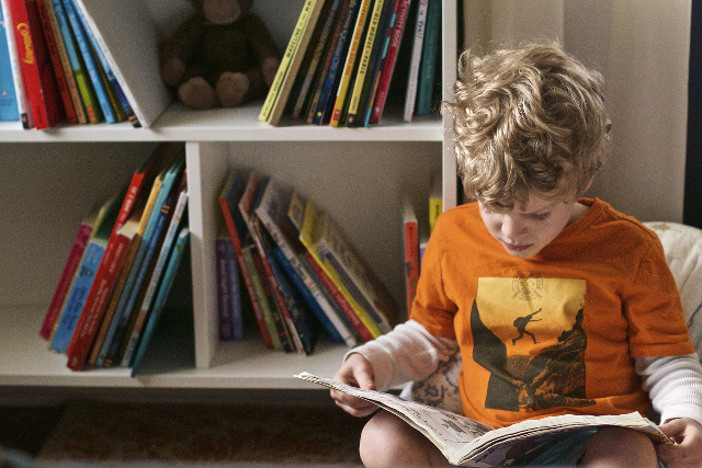 Developing healthy reading habits among kids