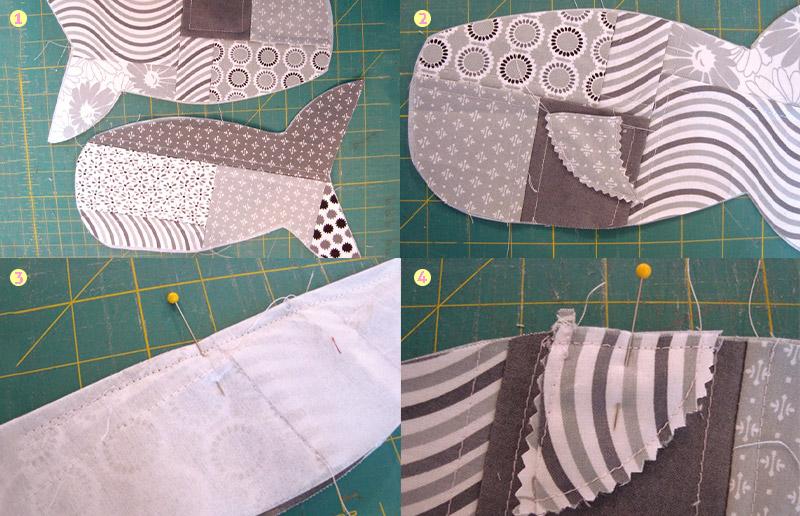 Pra ser o sucesso no primeiro dia de aula: aprenda a costurar um estojo de tubarão!