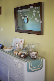 Organizing with Dressers in the Kitchen, Living Room, Dining Room, Entryway at A Nest for All Seasons