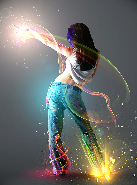 Awesome Stuff: Show Me The Light - Cool Photoshop Digital ...