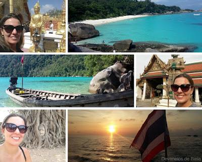 Fotos Templos e praias Tailândia 2017