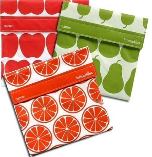 Lunchskins: best nontoxic and reusable sandwich bags