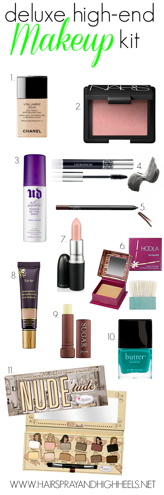 Best High-End Makeup Products