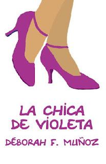 la chica de violeta, relato corto ilustrado