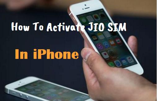 how to activate iphone without sim how to activate jio sim in iphone go helpdesk 2937