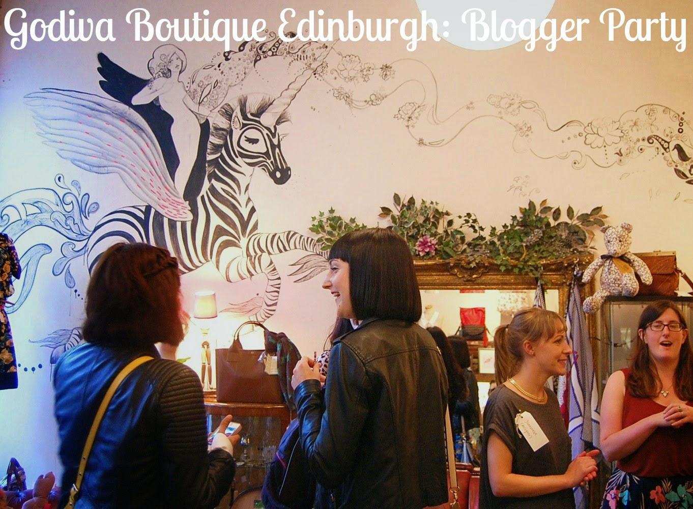 Godiva Boutique Edinburgh