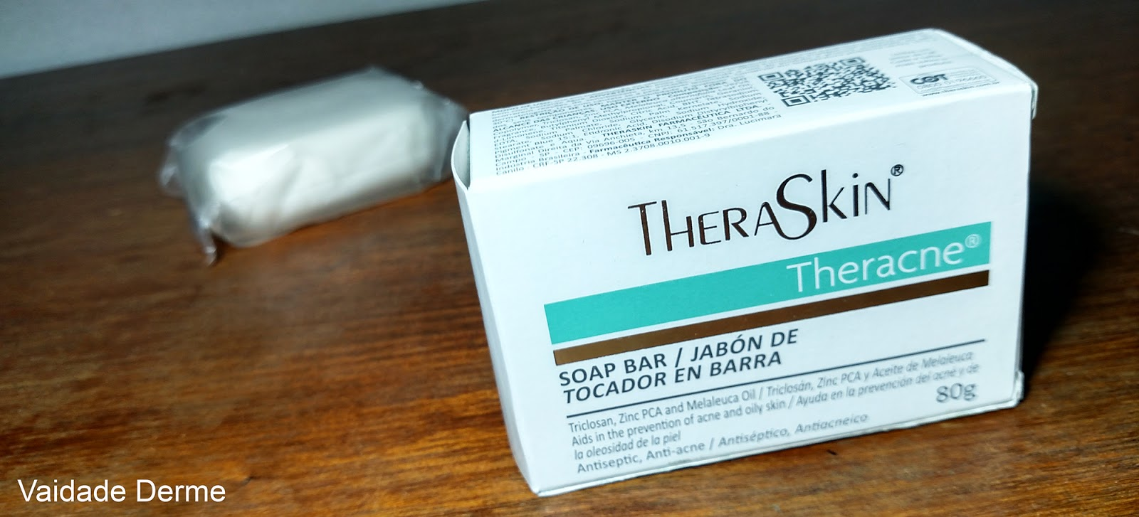 Theraskin Theracne Sabonete Barra e Líquido