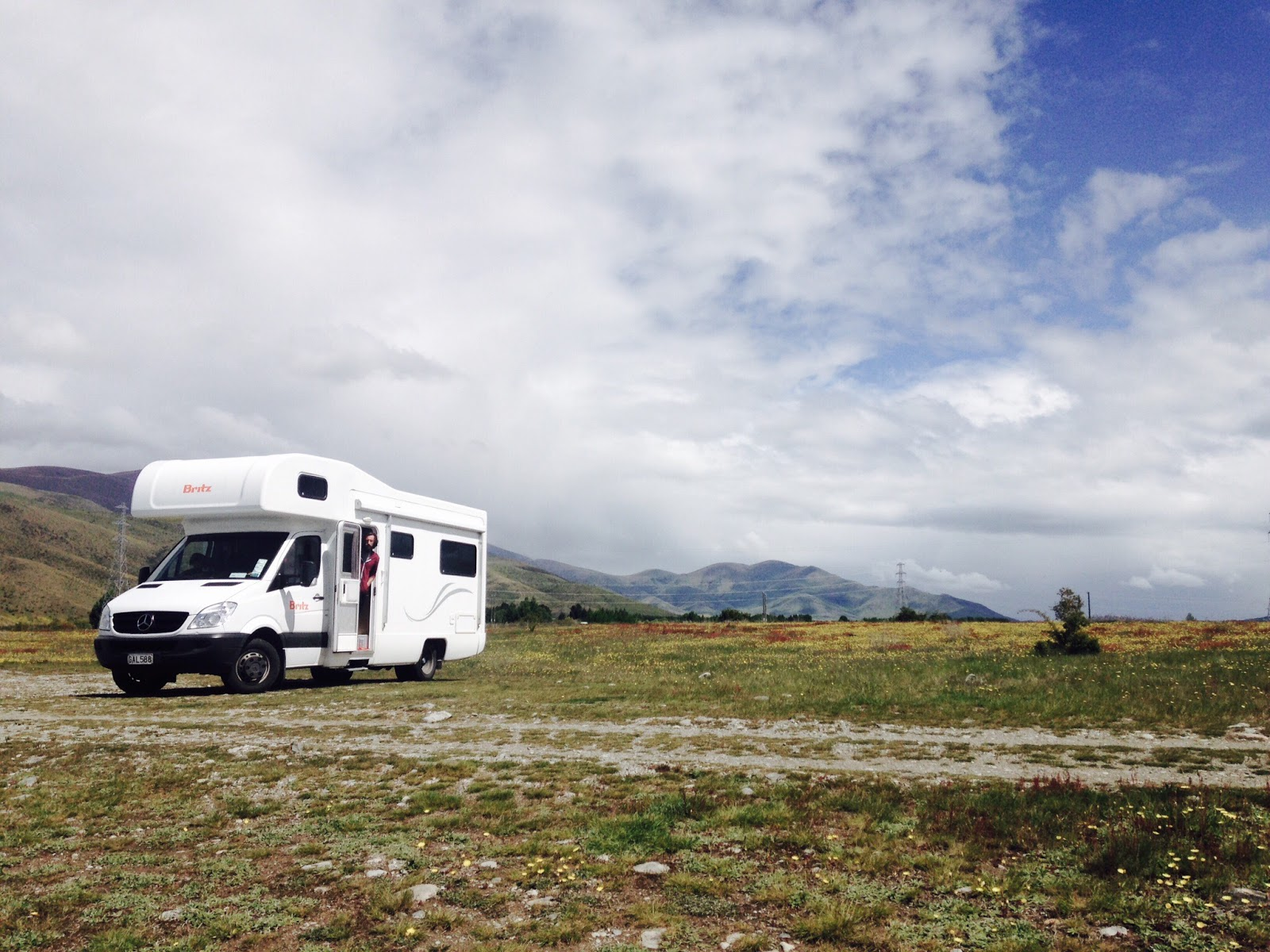 Camping around New Zealand
