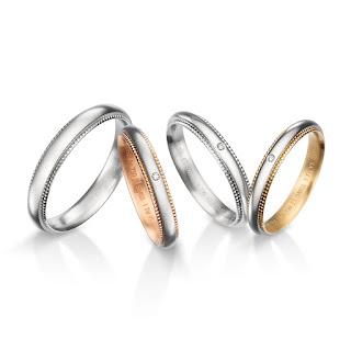 FURRERJACOT インサイドストーン 鍛造 プラチナ プラチナ999 プラチナ950 パラジウム ゴールド ピングゴールド 結婚指輪 婚約指輪 ミル打ち