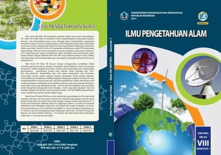Free Download Buku K13 SMP Kelas 8 Lengkap [Edisi Revisi 2017]