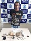 Polícia Civil prende em flagrante homem com arma e drogas em S. A. de Jesus