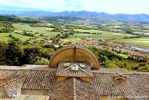 Panorama dal Castello di Sammezzano