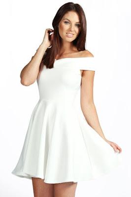 imagenes de Vestidos de Fiesta Blancos