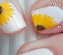 http://onceuponnails.blogspot.com/2014/04/sunflowers.html