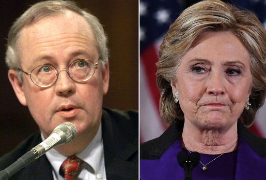 Ken Starr: I almost charged Hillary Clinton with perjury