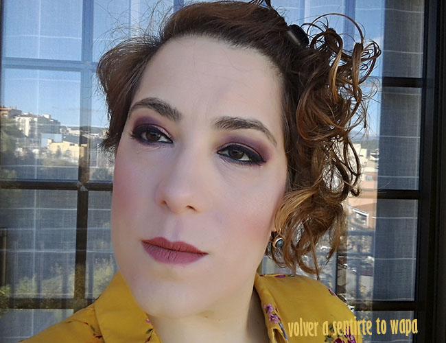 Makeup | Degradado hacia el rojizo