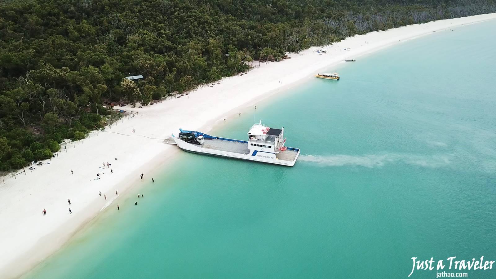 澳洲-聖靈群島-白天堂沙灘-白天堂海灘-景點-推薦-攻略-交通-自由行-遊記-必玩-必去-必遊-行程-一日遊-半日遊-Whitsundays-Whitehaven-Beach-天氣-旅遊